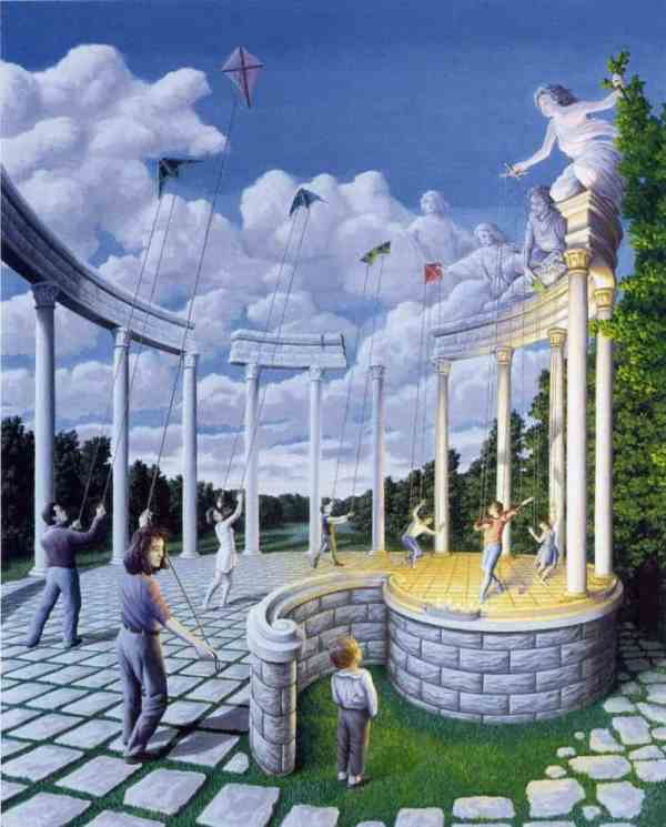 Surreal Mind-bending Paintings Of Rob Gonsalves
