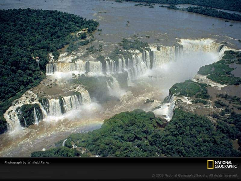 Blue Nile Falls Wallpaper 14 Mind Blowing International Borders From Around The World