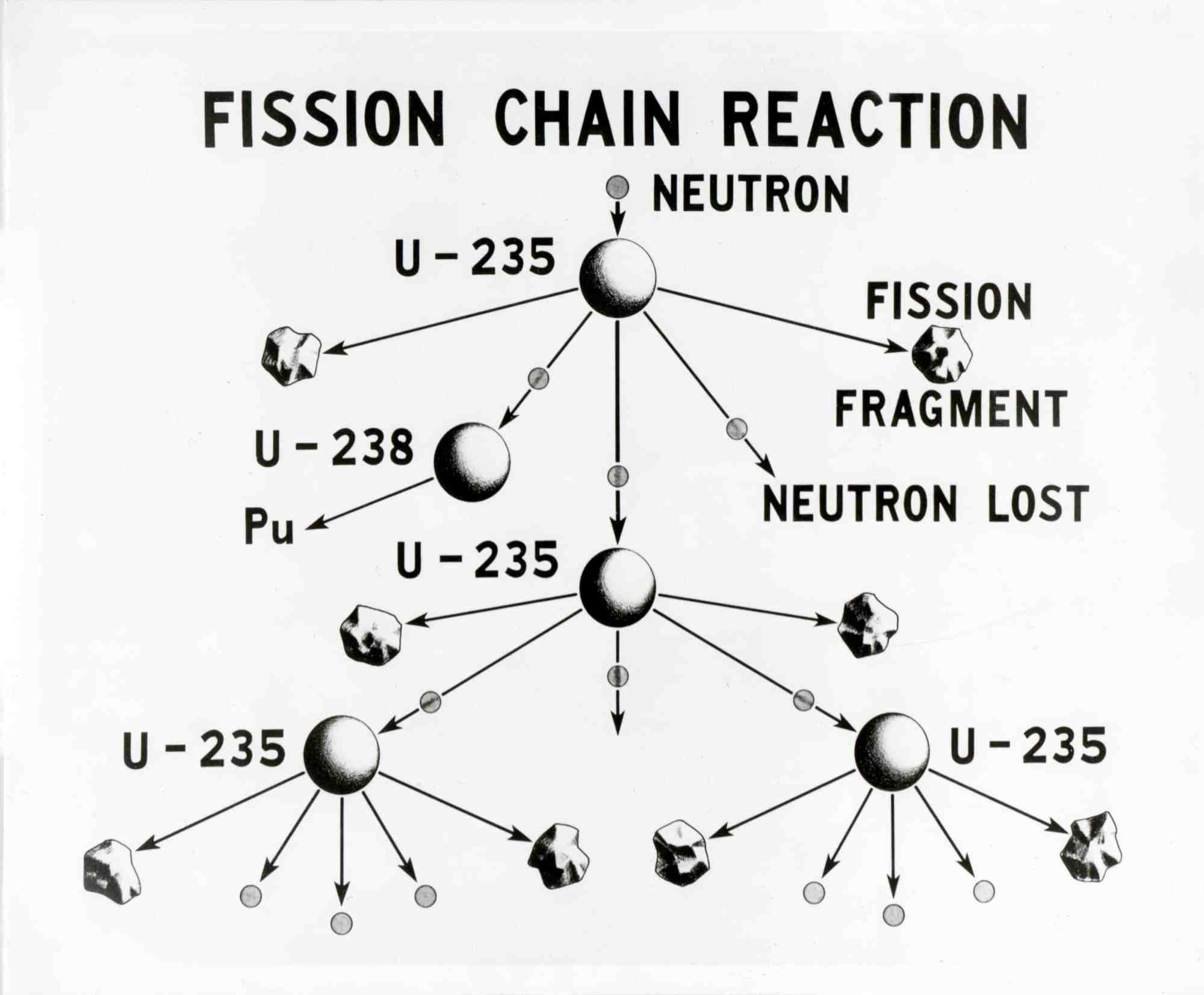 hight resolution of u 235 fission chain reaction credit wikimedia commons
