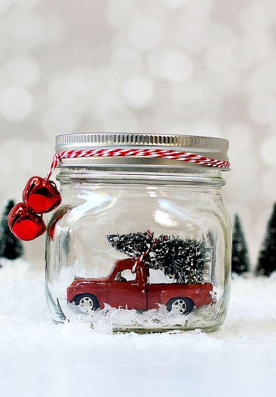 pinterest car in a jar