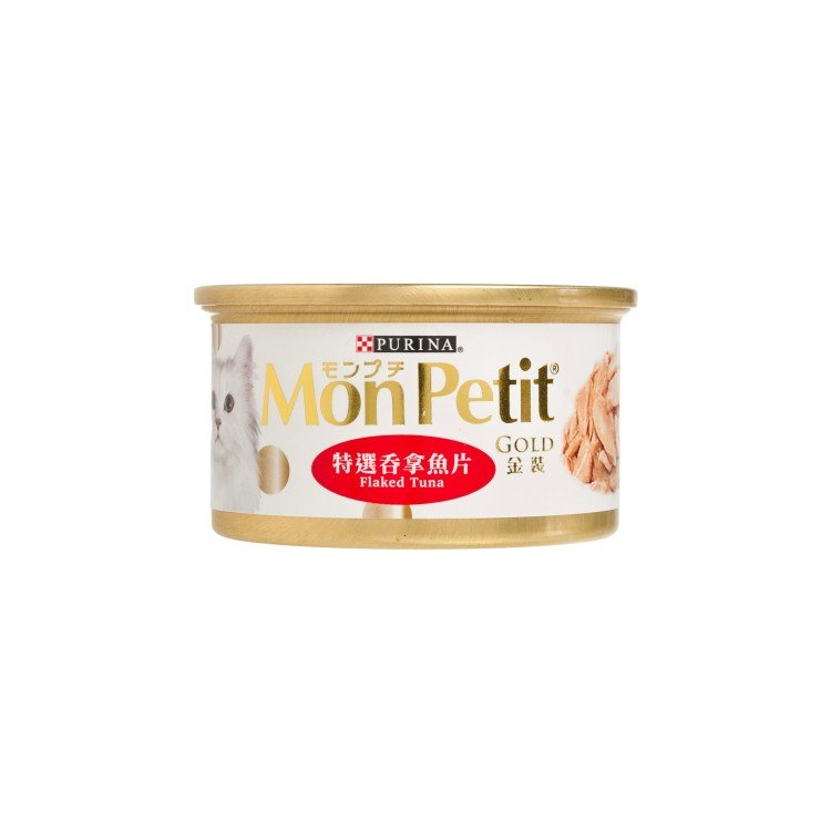 MON PETIT   貓罐金裝 - 特選吞拿魚片   士多 Ztore