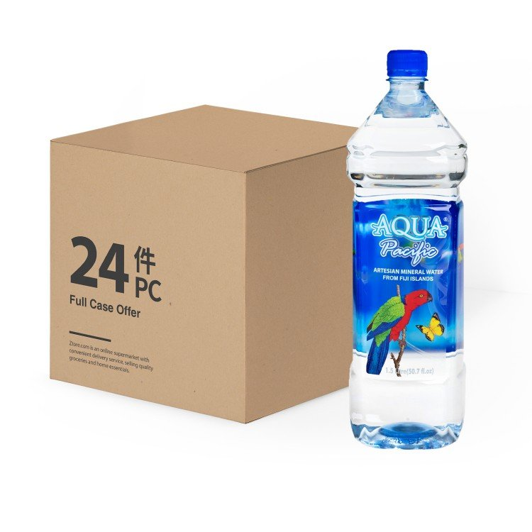 AQUA PACIFIC 太平洋水   天然礦泉水-2箱   士多 Ztore