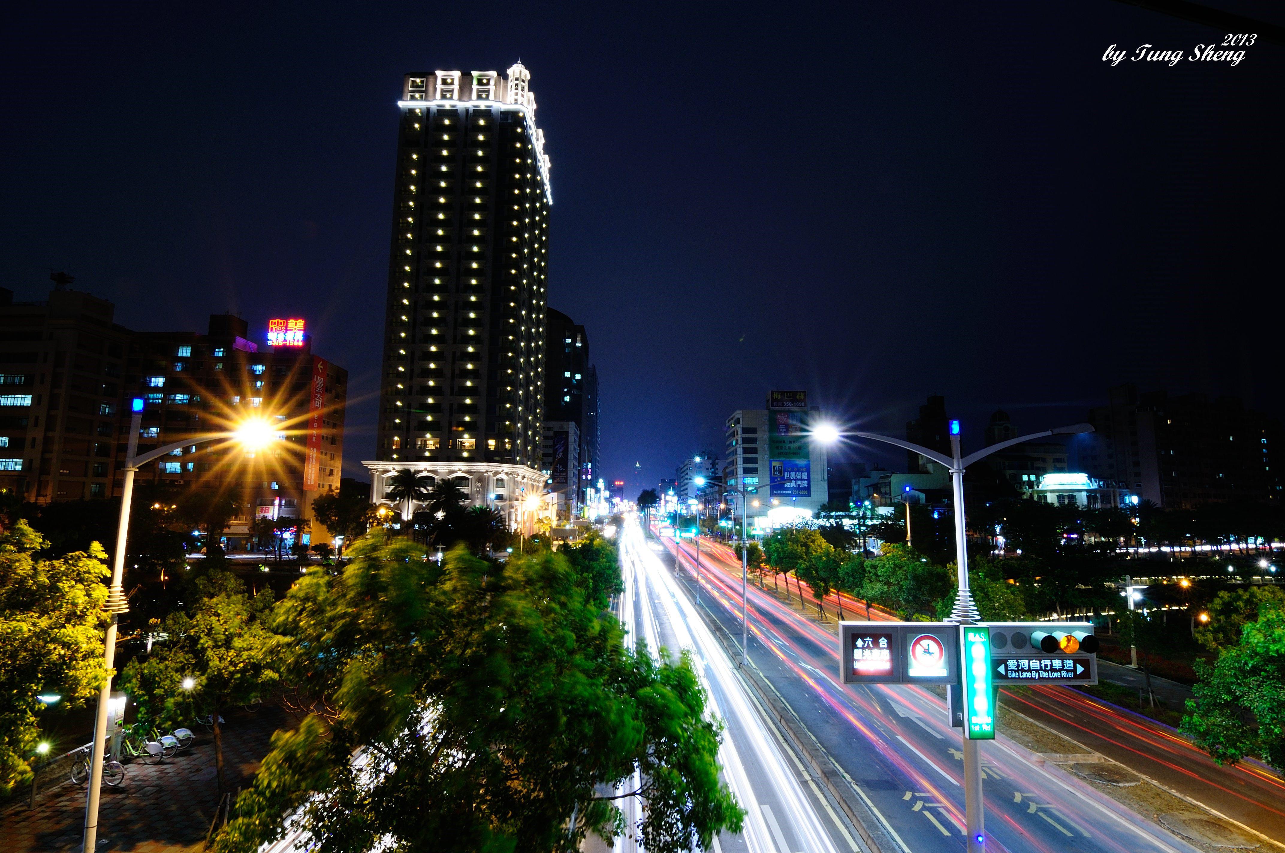 高雄愛河之心 | 夜貓子的攝影展 一定要拍的臺灣夜景 | DIGIPHOTO