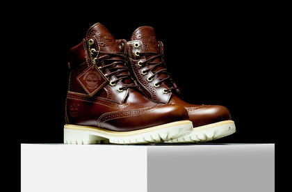 大黃靴暫時退隱!Timberland 再次強勢推出「厚底皮革防水靴」栗、黑雙色系! | manfashion這樣變型男