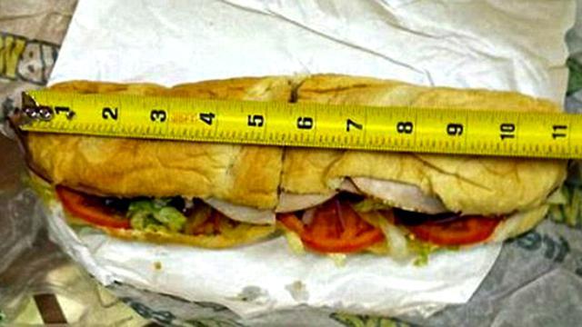 Sandwich Tak Sesuai Ukuran Restoran Siap Saji Subway Digugat Global Liputan6 Com