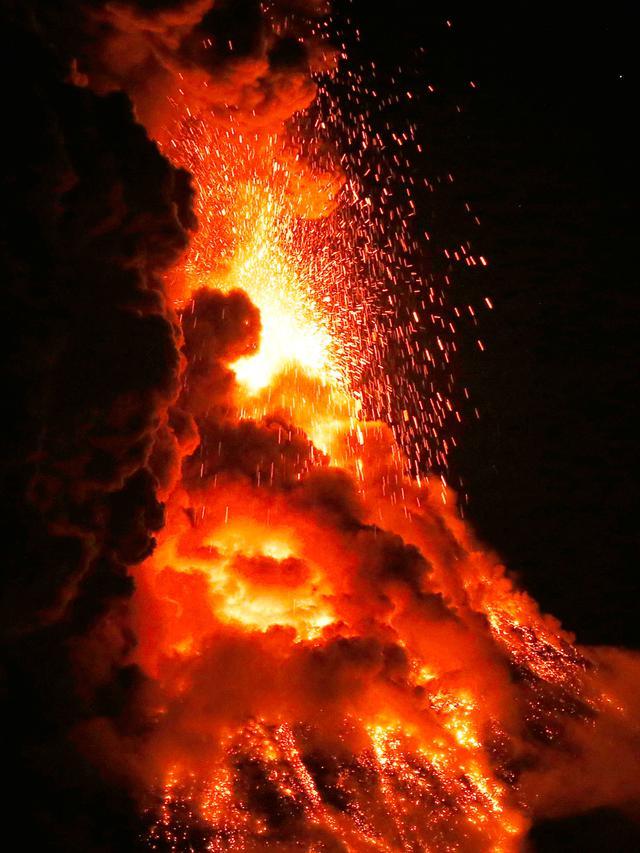 Awan Panas Yang Keluar Dari Letusan Gunung Berapi Disebut : panas, keluar, letusan, gunung, berapi, disebut, Gempa, Gunung, Berapi, Guncang, Kedua, Pasifik, Global, Liputan6.com