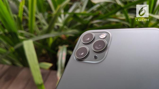 Tiga kamera belakang iPhone 11 Pro. News/Yuslianson