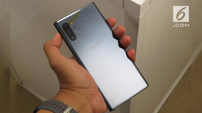 Samsung Galaxy Note 10 Plus. News/Istiarto Sigit Nugroho