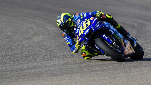 FOTO: Valentino Rossi Posisi ke-9 saat Sesi Latihan MotoGP Aragon