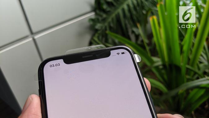 Kamera selfie iPhone 11 Pro. News/Yuslianson
