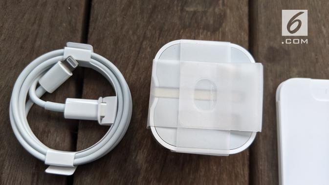Kepala charger iPhone 11 Pro. News/Yuslianson