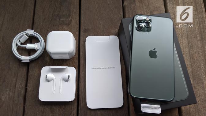 Unboxing iPhone 11 Pro. News/Yuslianson
