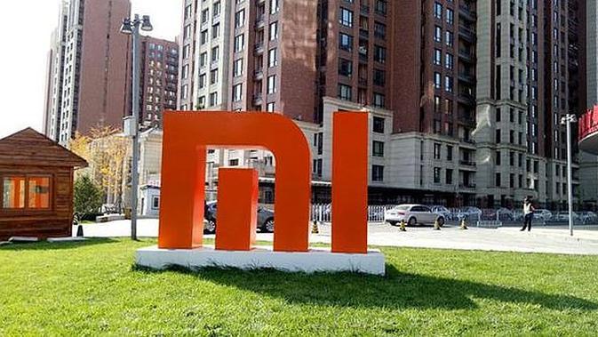 Logo Xiaomi (Foto: Agustin Setyo Wardani / News)