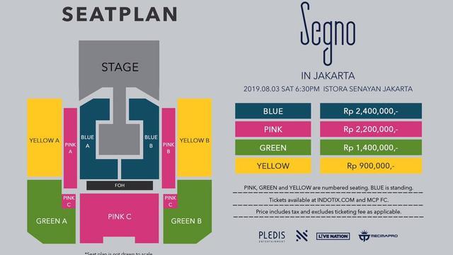 Konser Nu'Est di Jakarta (Twitter/ mecimapro)