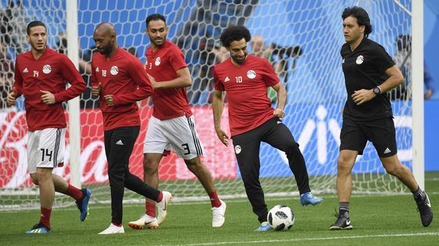 Mohamed Salah, Piala Dunia 2018