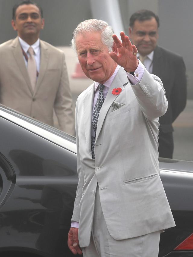 Pangeran Charles di India