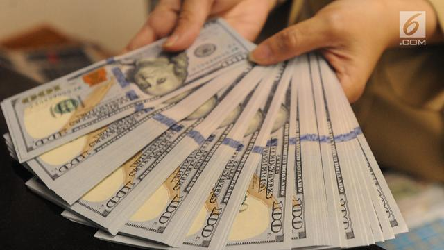 Rupiah Tembus 14.600 per Dolar AS