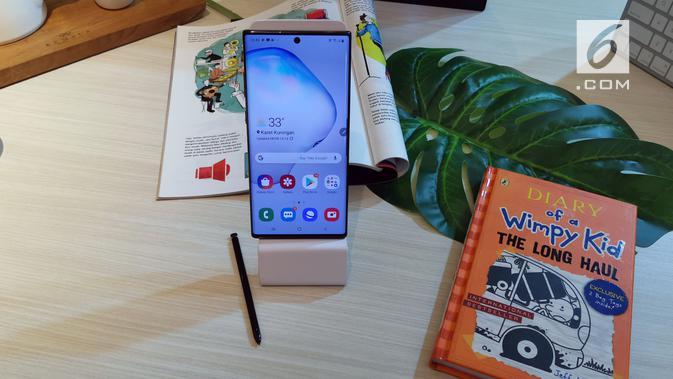 Samsung resmi perkenalkan Galaxy Note 10 dan Note 10 Plus. (News/ Andina Librianty)