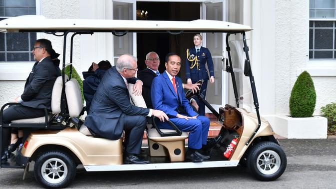 Presiden Jokowi kunjungan ke Australi (Istimewa)