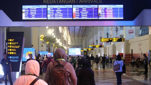 Terminal 3 Bandara Internasional Soekarno-Hatta, Tangerang, Banten. (Mita/Liputan6.com)