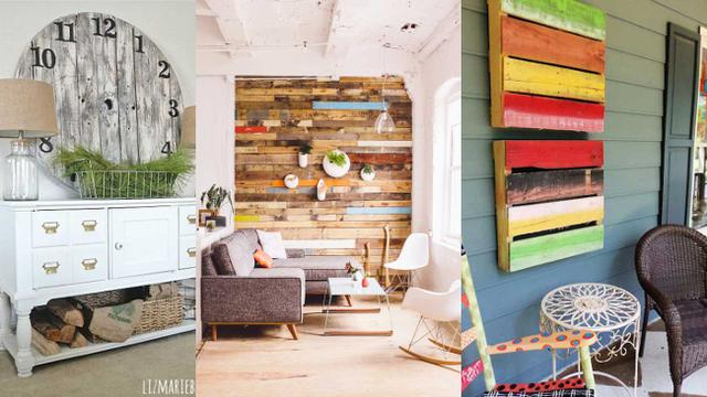 Inspirasi Dekorasi Rumah dengan Palet Kayu  Lifestyle