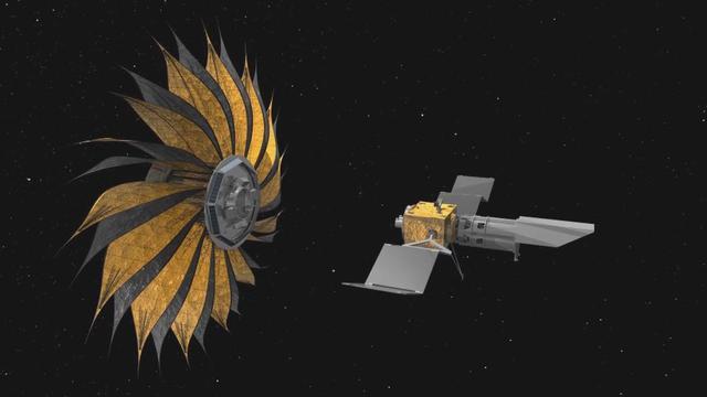 Hasil gambar untuk pesawat Starshade
