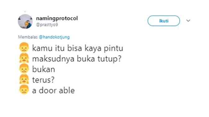 Cuitan gombalan (Sumber: Twitter/prasttyo9)