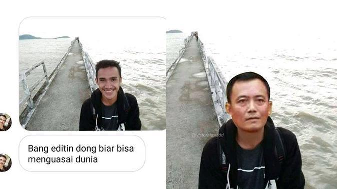 6 Foto 'Bang Editin Dong' Ini Kocak, Ada yang Ingin Kayak Artis Korea (sumber: Instagram.com/QDarkPhoenix)