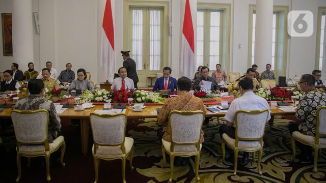 Jokowi Pimpin Ratas Kesiapan Hadapi Dampak Virus Corona