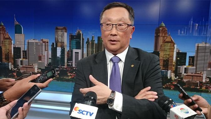 John Chen, Executive Chairman and CEO BlackBerry. Liputan6.com/Iskandar