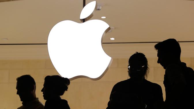Ilustrasi Apple (AP Photo/Mark Lennihan)
