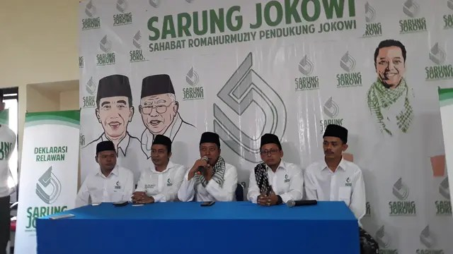 Deklarasi relawan Sarung Jokowi