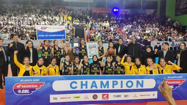 SMAN 28 Jakarta Juara DBL 2018 Jakarta Selatan Sektor Putri
