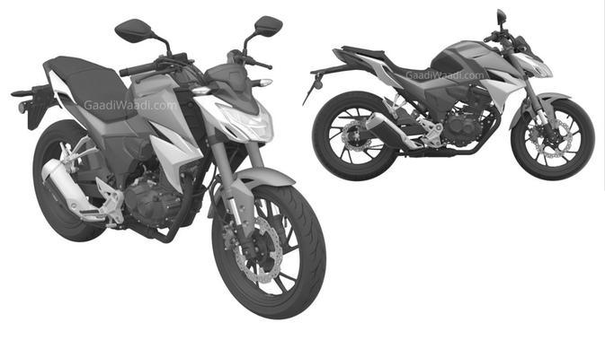 030385200 1594723770 Honda CBF 190 R Patent Side