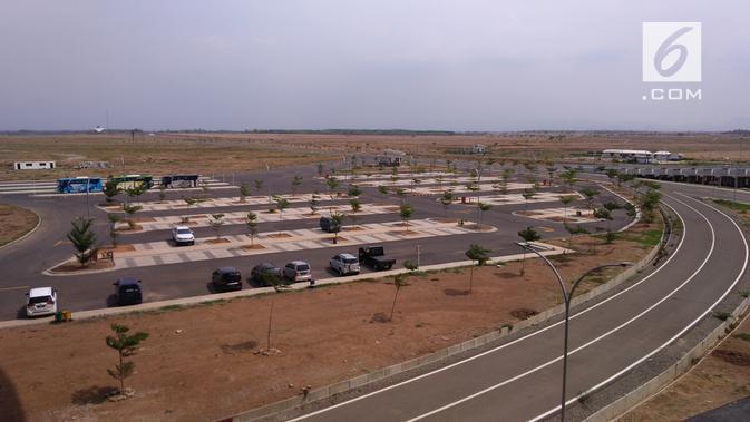 Lokasi parkir Bandara Kertajati. Dok: Tommy Kurnia/Liputan6.com