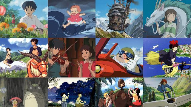 6 Film Animasi Terbaik Persembahan Studio Ghibli Showbiz