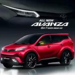 Grand New Avanza 2019 Harga Lebar Cerita Di Balik Desain Toyota Yang Viral Otomotif Liputan6 Com Rendering Model Terbaru Beredar Media Sosial Istimewa