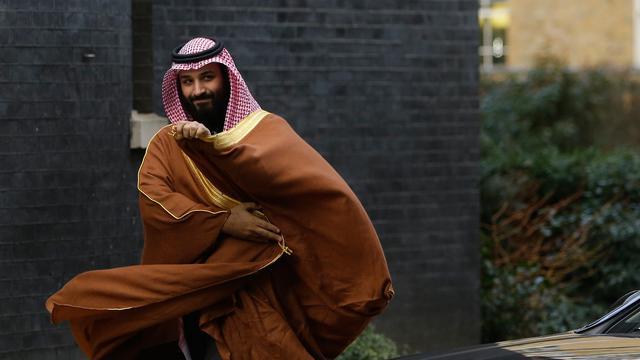 Putra Mahkota Arab Saudi Temui PM Inggris Theresa May