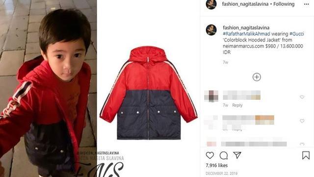 7 Fashion Rafathar Anak Raffi Ahmad dan Nagita Slavina, Harganya Fantastis