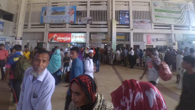 Stasiun Kamalapur Bangladesh