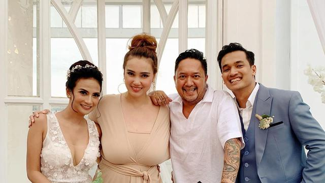 7 Momen Resepsi Pernikahan Vanessa Angel di Bali, Meriah Dihadiri Sahabat