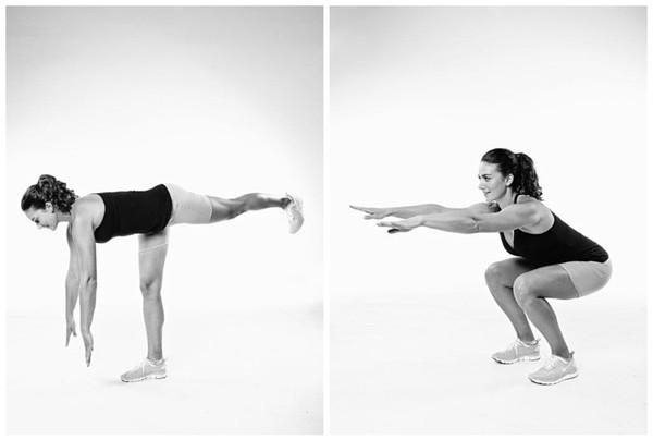 [分享] 利用羅馬尼亞式單腳硬舉,深蹲這兩招,讓妳練就更完美且自信的體態! | T17 討論區 - 一起分享好東西