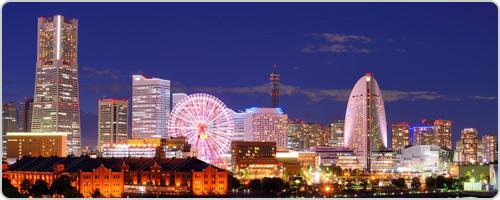 4590 D2 6:橫濱住宿推薦:櫻木町華盛頓飯店。離車站三分鐘窗外還有夜景