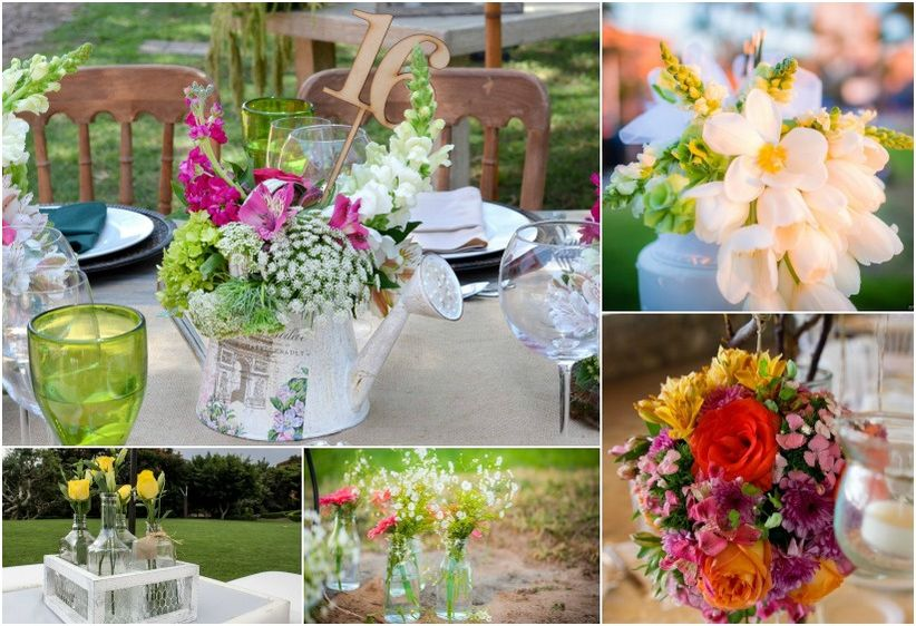20 decoraciones para las mesas del banquete  bodascommx