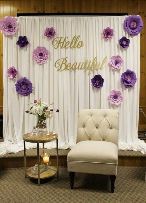 shower chair malaysia stool desk combinacion de colores lila, blanco y dorado - foro organizar una boda bodas.com.mx
