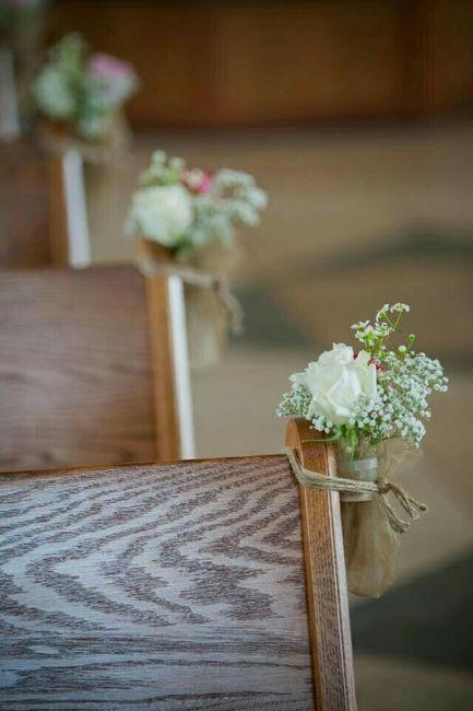 Ideas para decorar bancas en la iglesia  Foro Antes de la