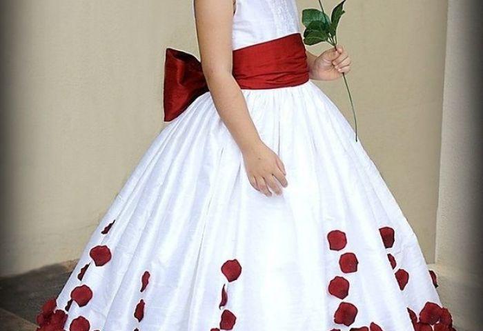 El Vestido De Mi Niña De Las Flores Mas Hermosa Del Mundo Foro