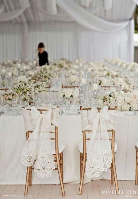 Arreglo para sillas  Foro Organizar una boda  bodascommx