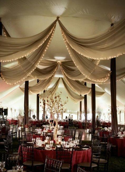 Decoracin telas y luces  Foro Organizar una boda