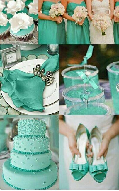Boda de azul aqua  Foro Organizar una boda  bodascommx